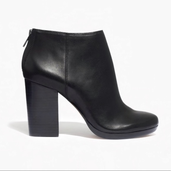 df8f0475967 Madewell Caleb Black Boot Bootie Ankle Boot